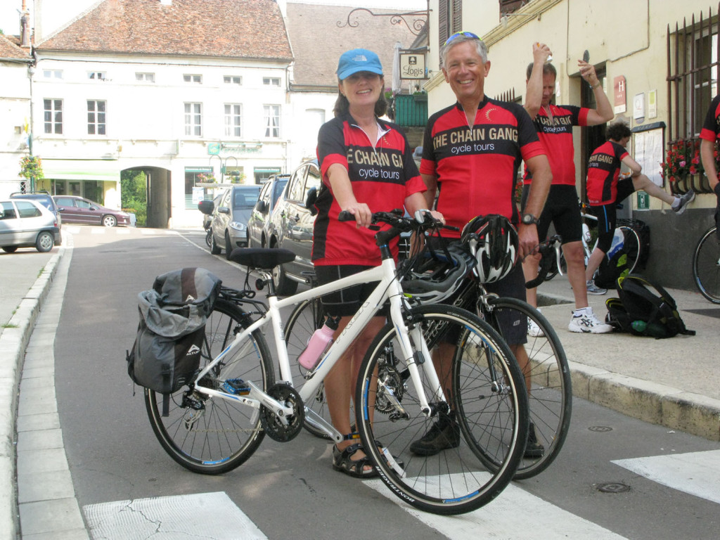 Keith and Heather in Montbard