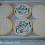 A box of Rocamadour cheeses.