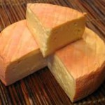 Munster cheese, from Alsace