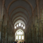 The chapel at the Abbey de Fontenay