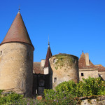 The chateau at Chateauneuf