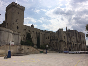 The Palais des Papes in Avignon