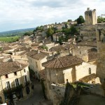 The view over St Emilion