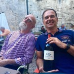 Roberto and Jerold in St Emilion.