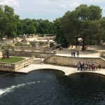 The Fountaine de Nimes, in its beautiful park.
