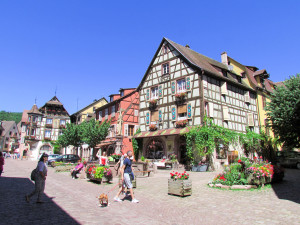 The centre of Kaysersberg