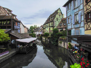 The river Lauch in Colmar