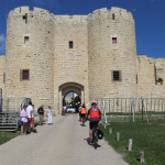 Entering Aigues Mortes. Stephen Middleton