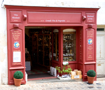 A shop in St Emilion
