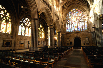 Cathedral in Exeter